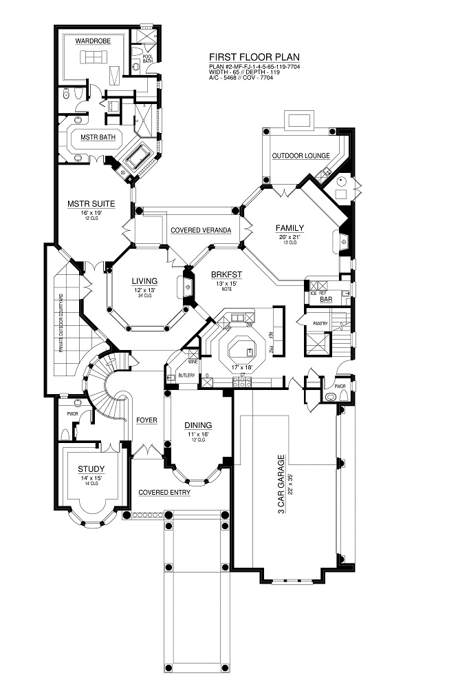 Featured House Plan Pbh